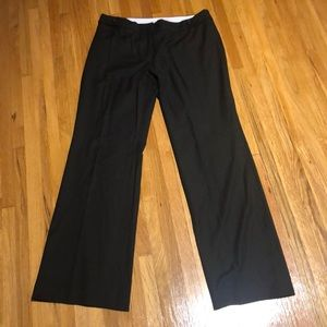 Black pant wide leg and boot cut loft